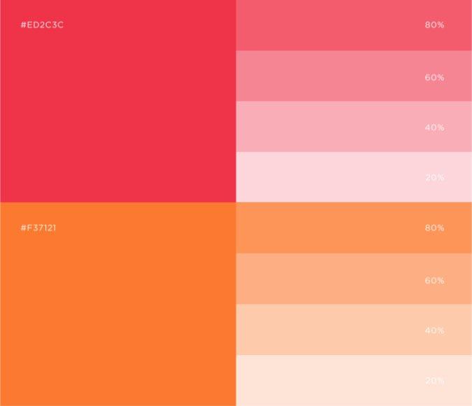 Esku color palette accent