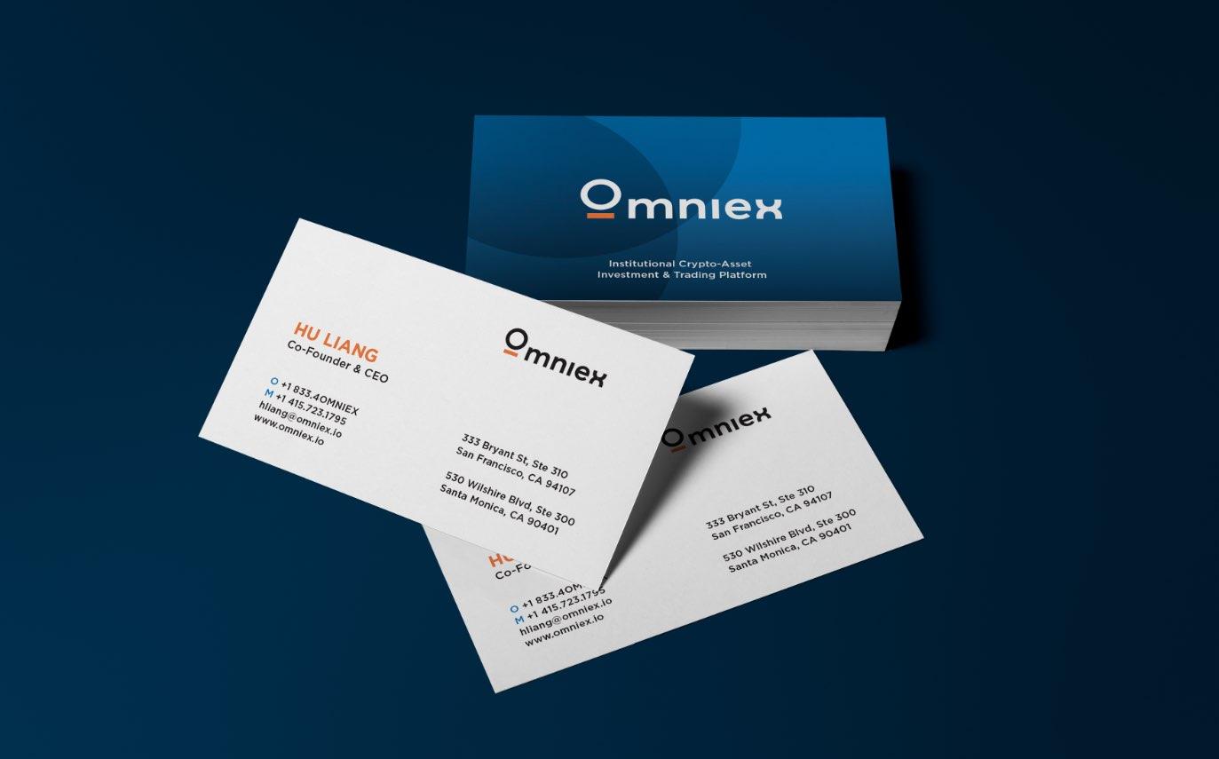 Omniex Business Cards