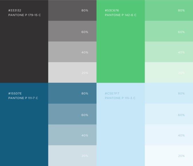 RIF secondary color palette